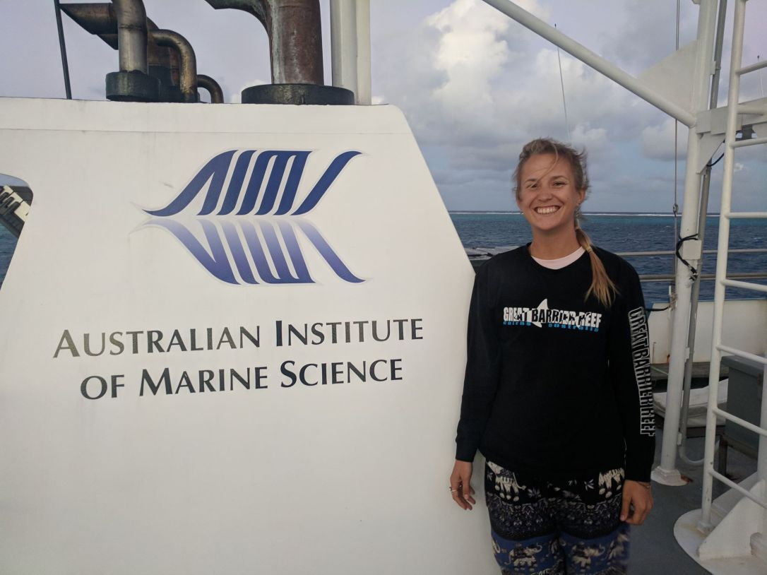 australian institute of marine science research vessel