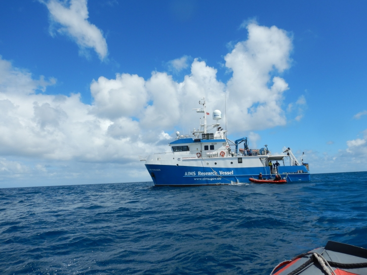 aims research vessel cape ferguson